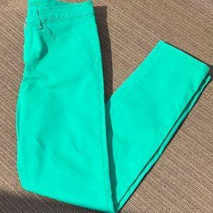 J Brand Skinny Leg Emerald Green 6